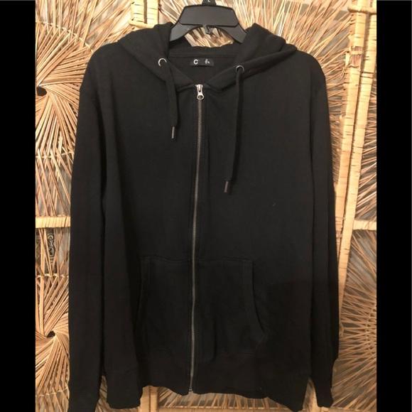 C Black Hoodie Size XL